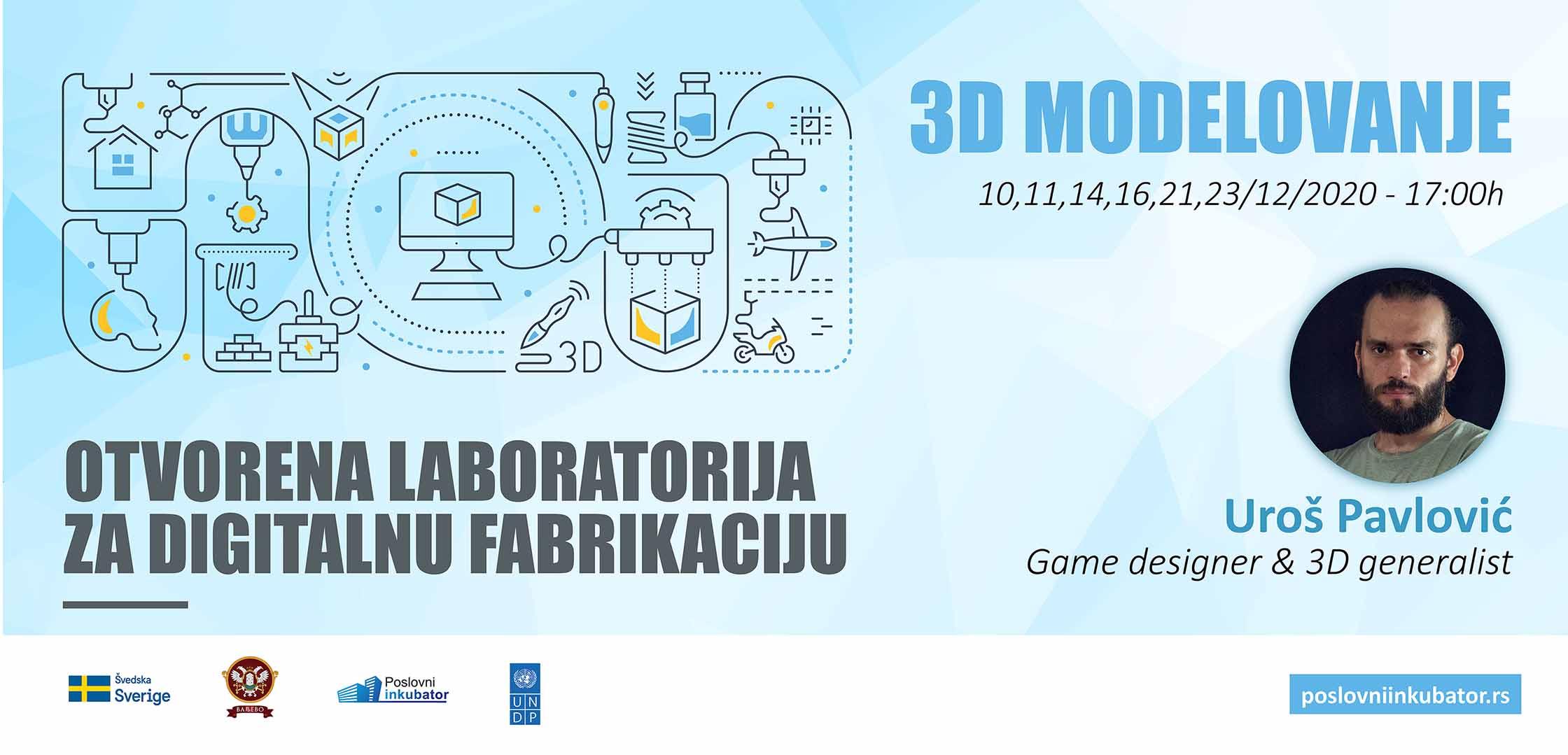 Prva obuka u okviru 3D laboratorije